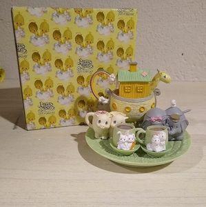 Precious Moments Noah's Ark Mini Tea Set